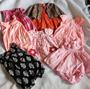9m month girls bundle